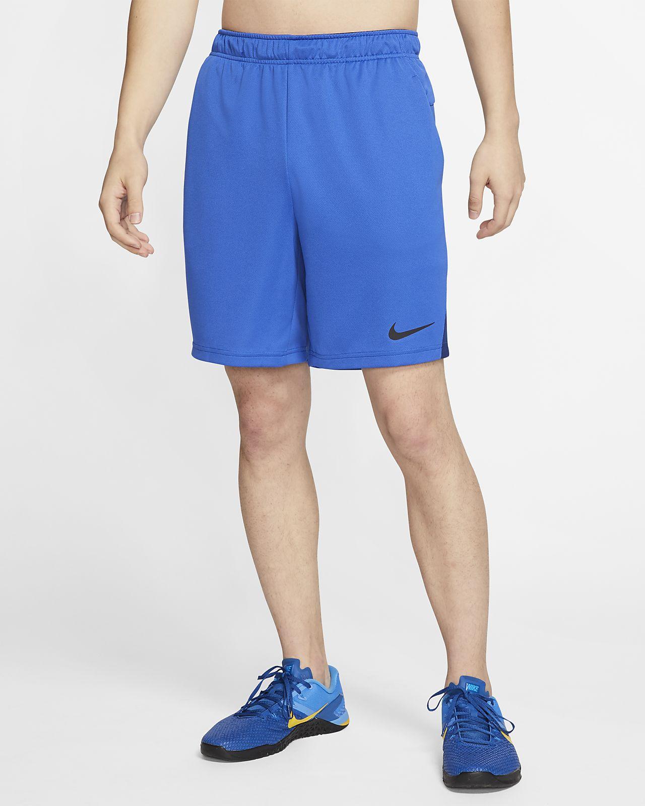 Pack Short Training Sport Nike Bleu nO0Pwk
