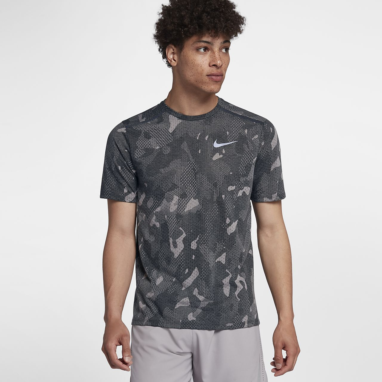 ddc15504 Nike Rise 365 Men's Short-Sleeve Running Top. Nike.com IN