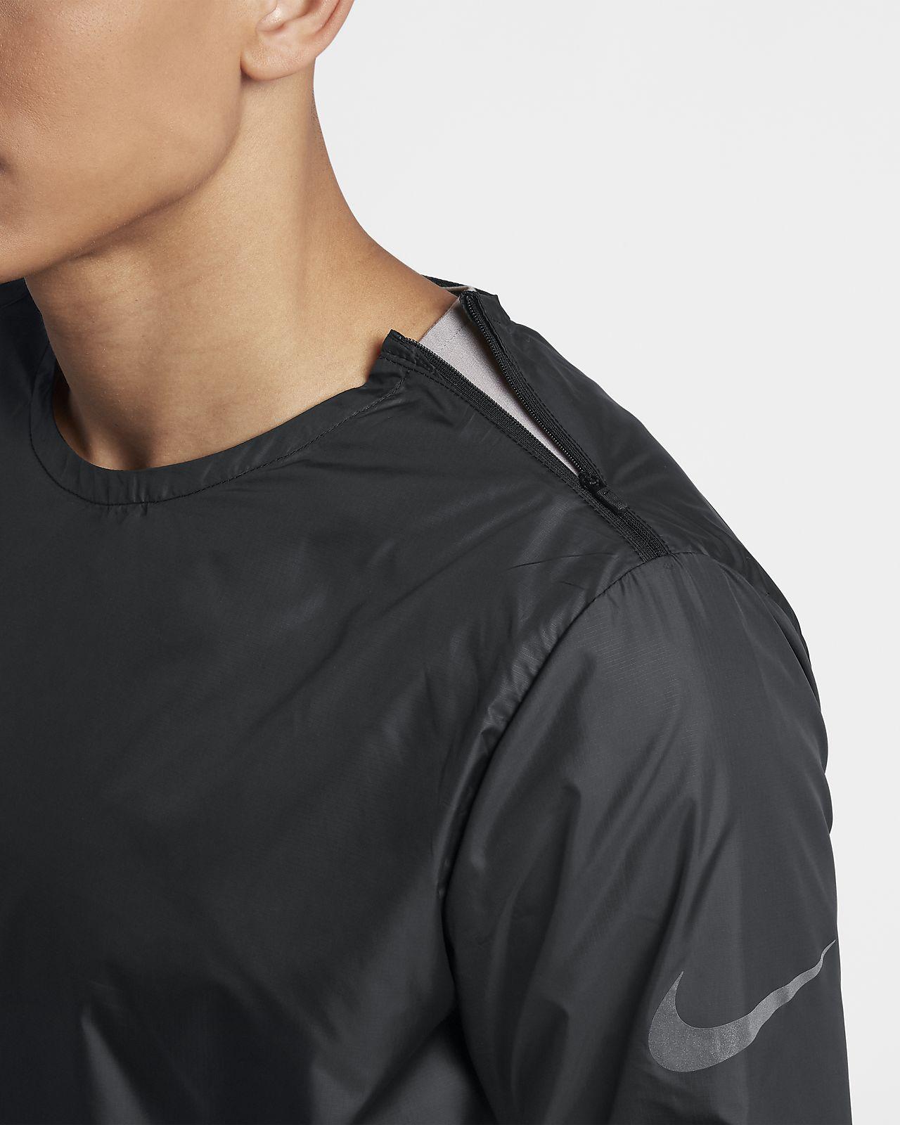 Nike Rundhals Laufjacke für Herren