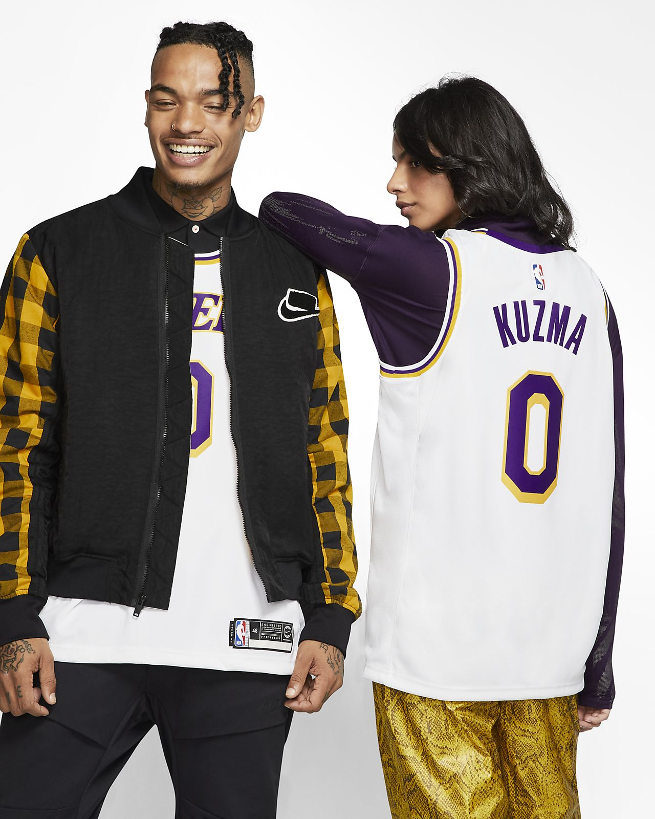 check out 0e210 7c1b8 Kyle Kuzma Association Edition Swingman (Los Angeles Lakers) Men's Nike NBA  Connected Jersey
