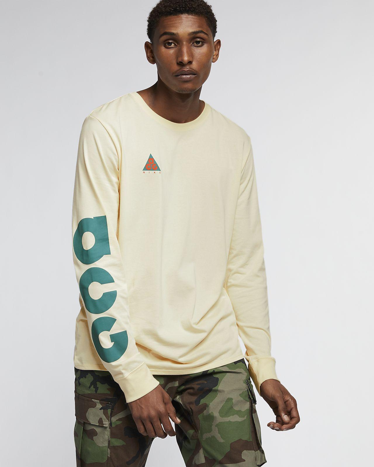 dc7b03aec6cf5 Tee-shirt à manches longues Nike Sportswear ACG. Nike.com BE