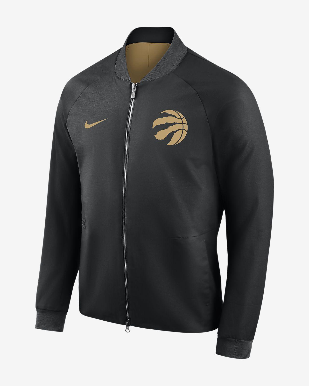 ... Toronto Raptors City Edition Nike Modern Men's NBA Varsity Jacket