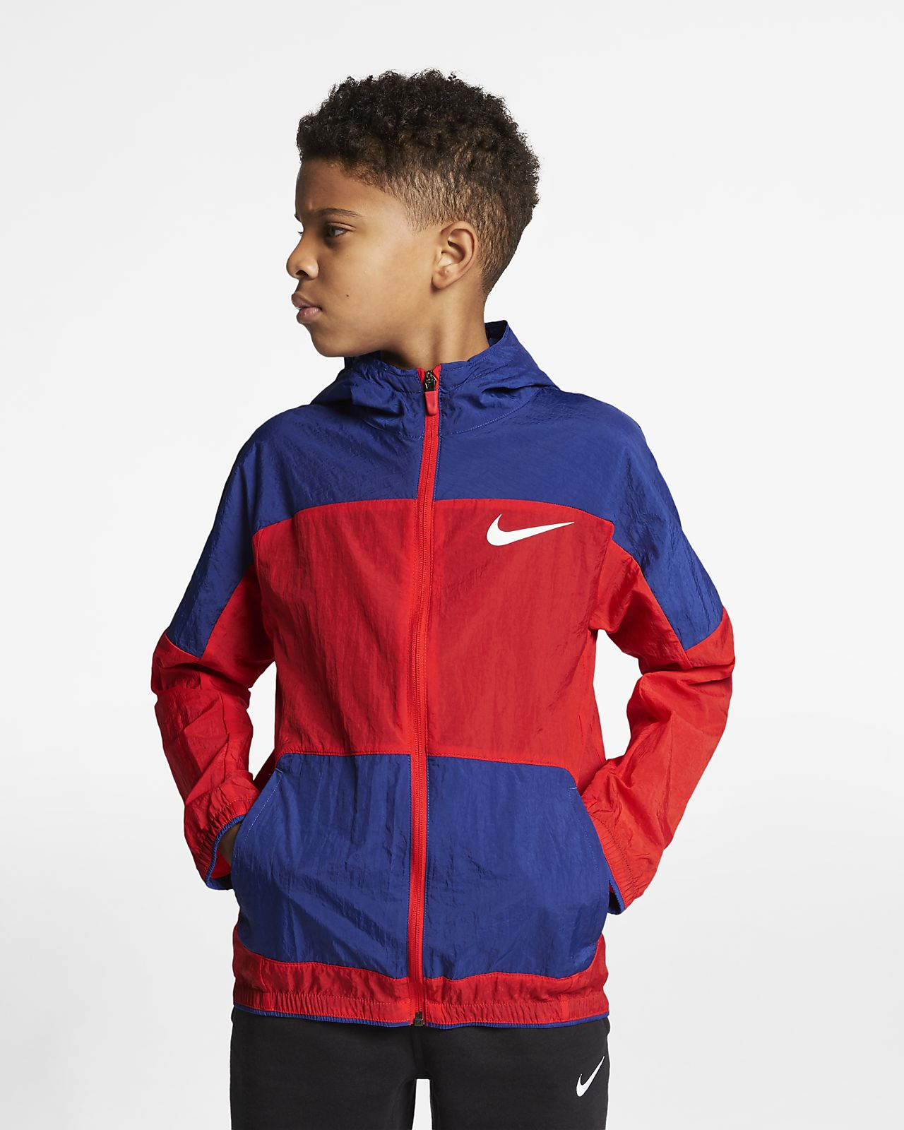 Nike Dri-FIT Big Kids' Woven Training Jacket