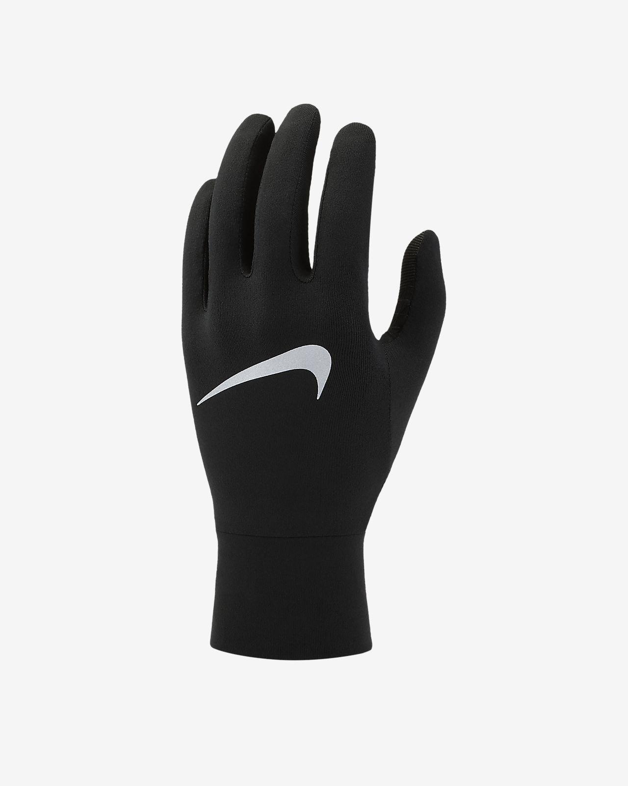 Damskie rękawiczki do biegania Nike Dri FIT