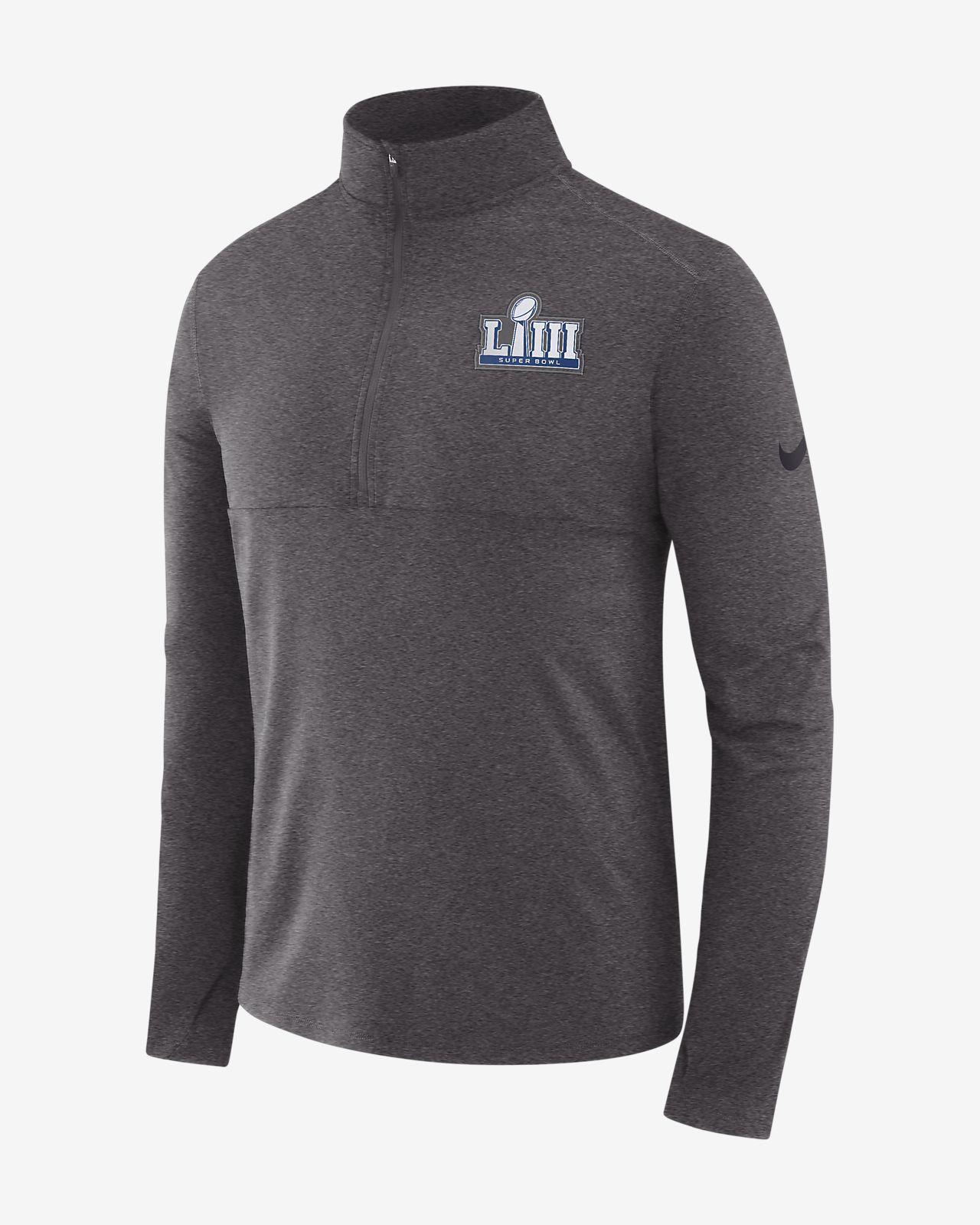 Nike Super Bowl LIII Men's Long-Sleeve 1/2-Zip Top