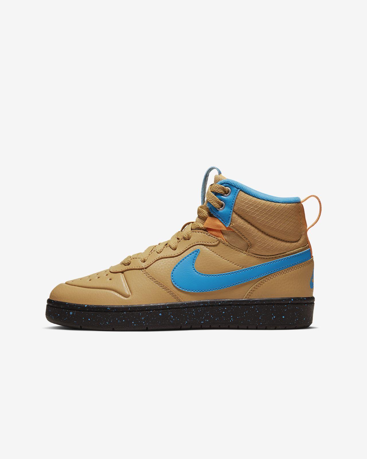 Nike Court Borough Mid 2 Boot Big Kids' Shoe