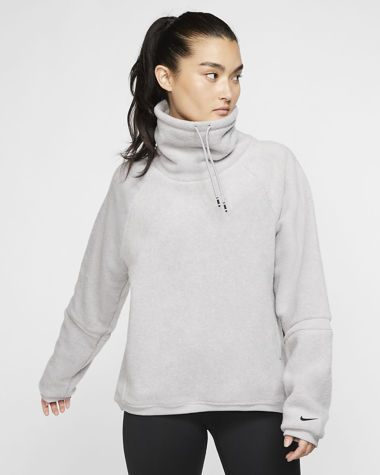 Nike Therma Women's Long-Sleeve Fleece Training Top