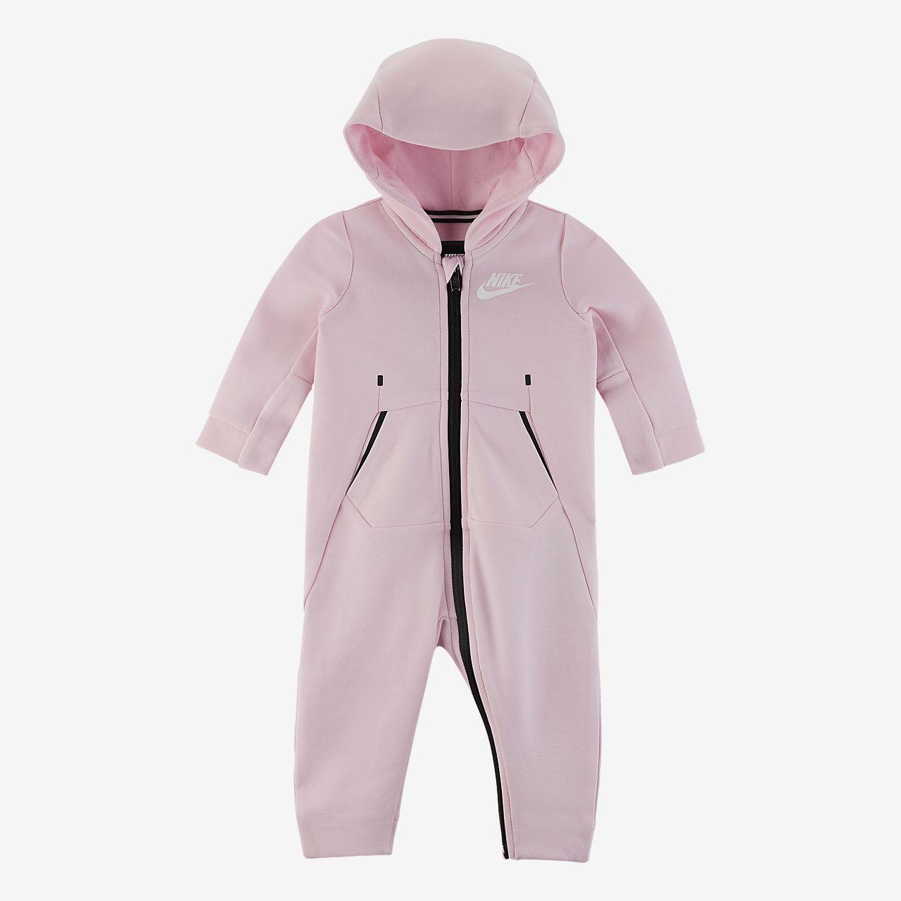 Coverall i fleece Nike Air för baby