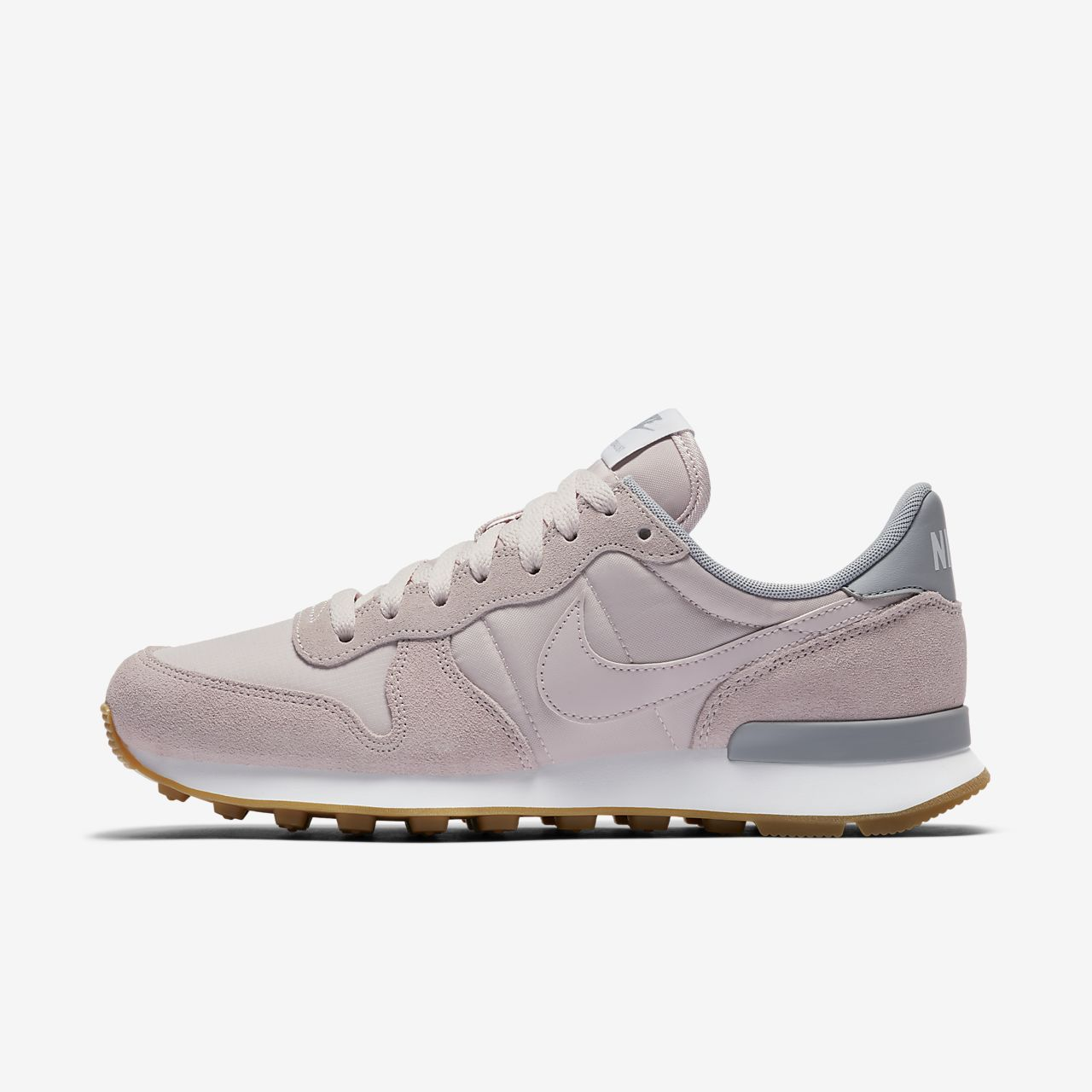 Internationalist W Pale Grey Nike Baskets/Running FemmeNike