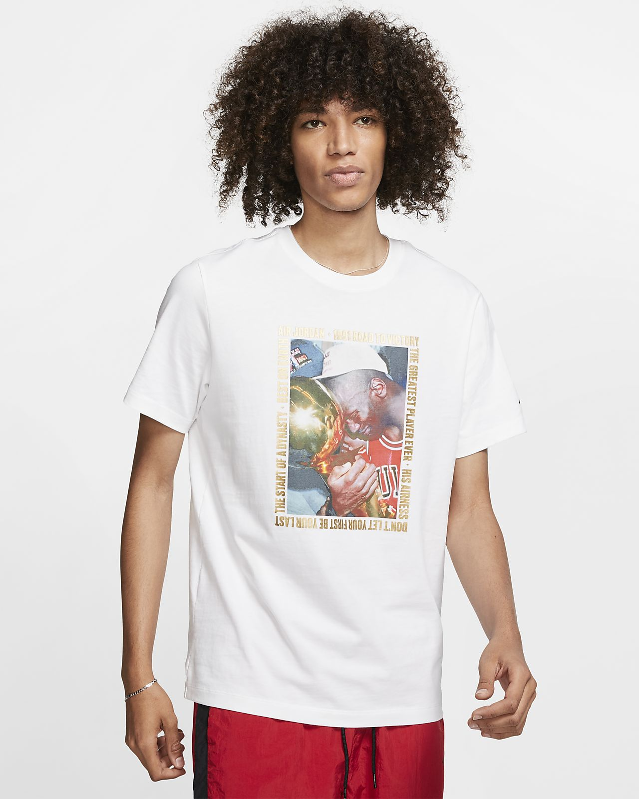 Jordan Remastered Photo Men's T-Shirt