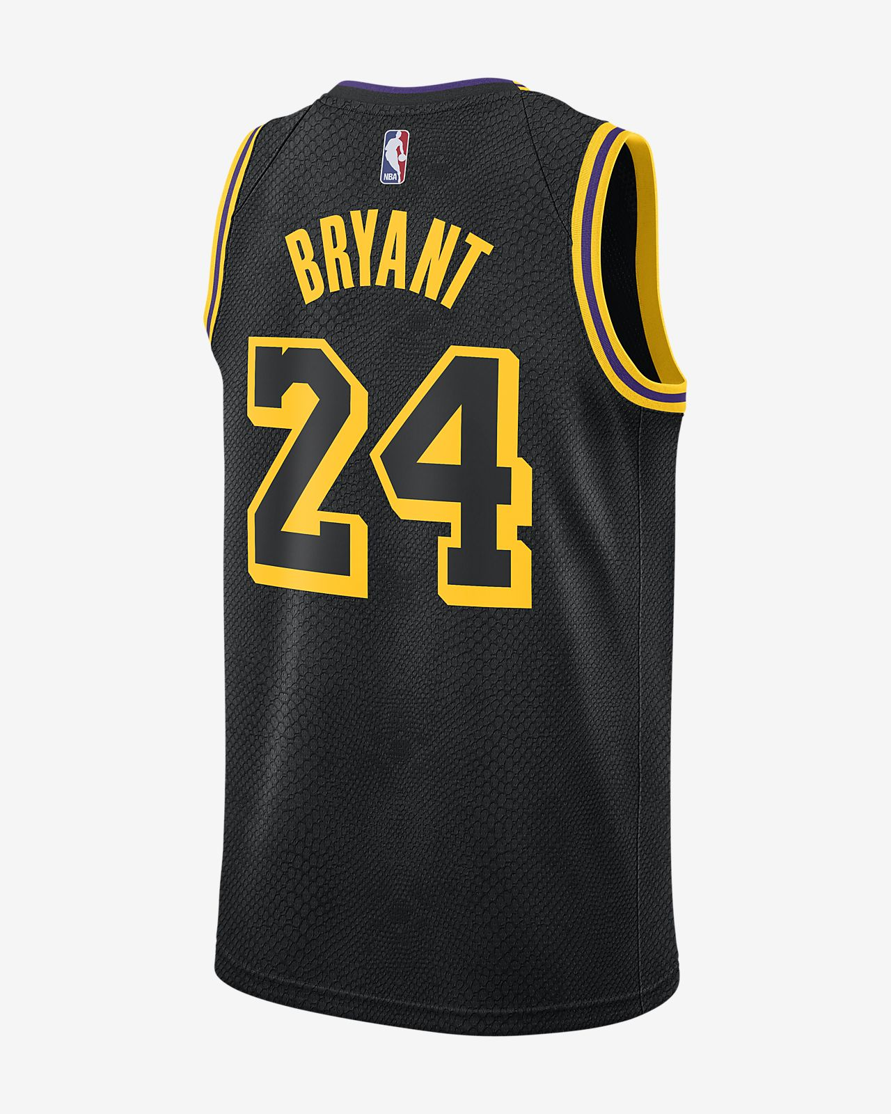 Kobe Bryant Backpacks >> Kobe Bryant City Edition Swingman Jersey (Los Angeles Lakers) Men's Nike NBA Jersey. Nike.com ID