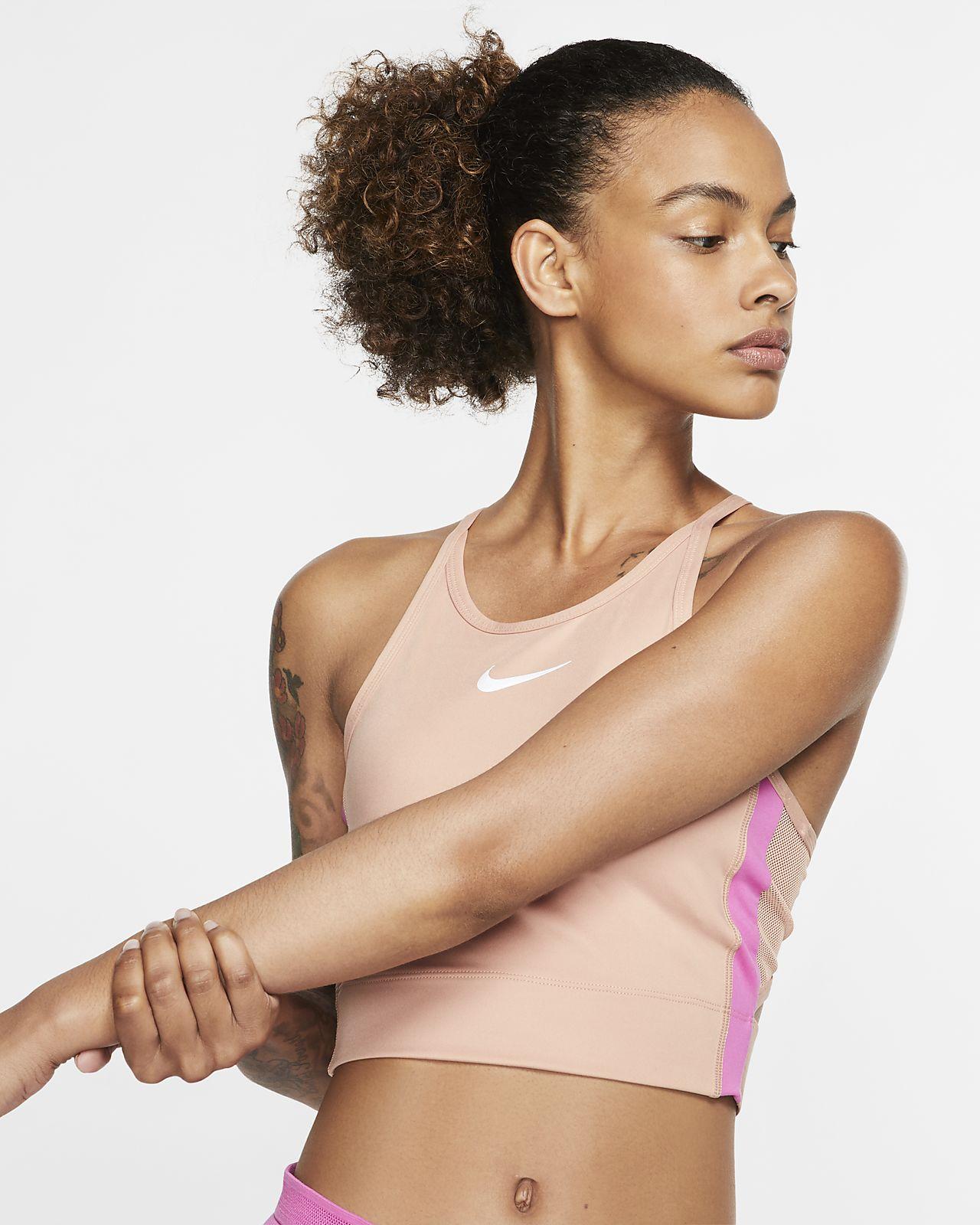 Dámské zkrácené běžecké tílko Nike