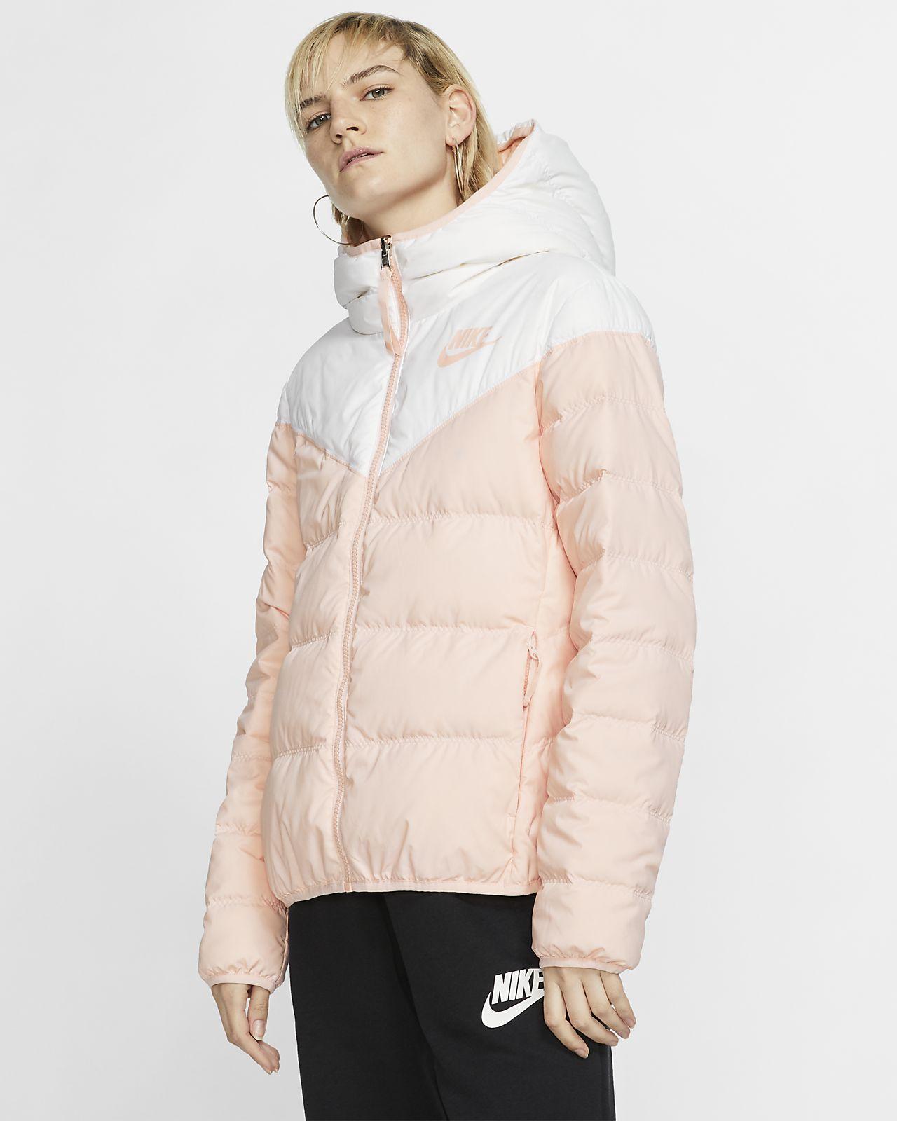 Nike Sportswear Windrunner Down-Fill vendbar jakke til dame