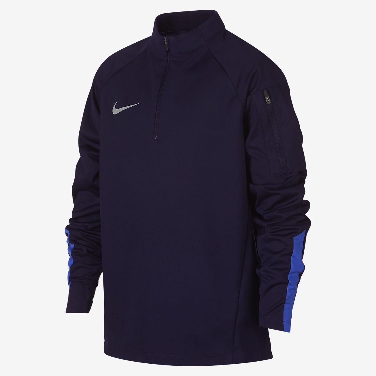 Fotbollsträningströja Nike Shield Squad för ungdom (killar)