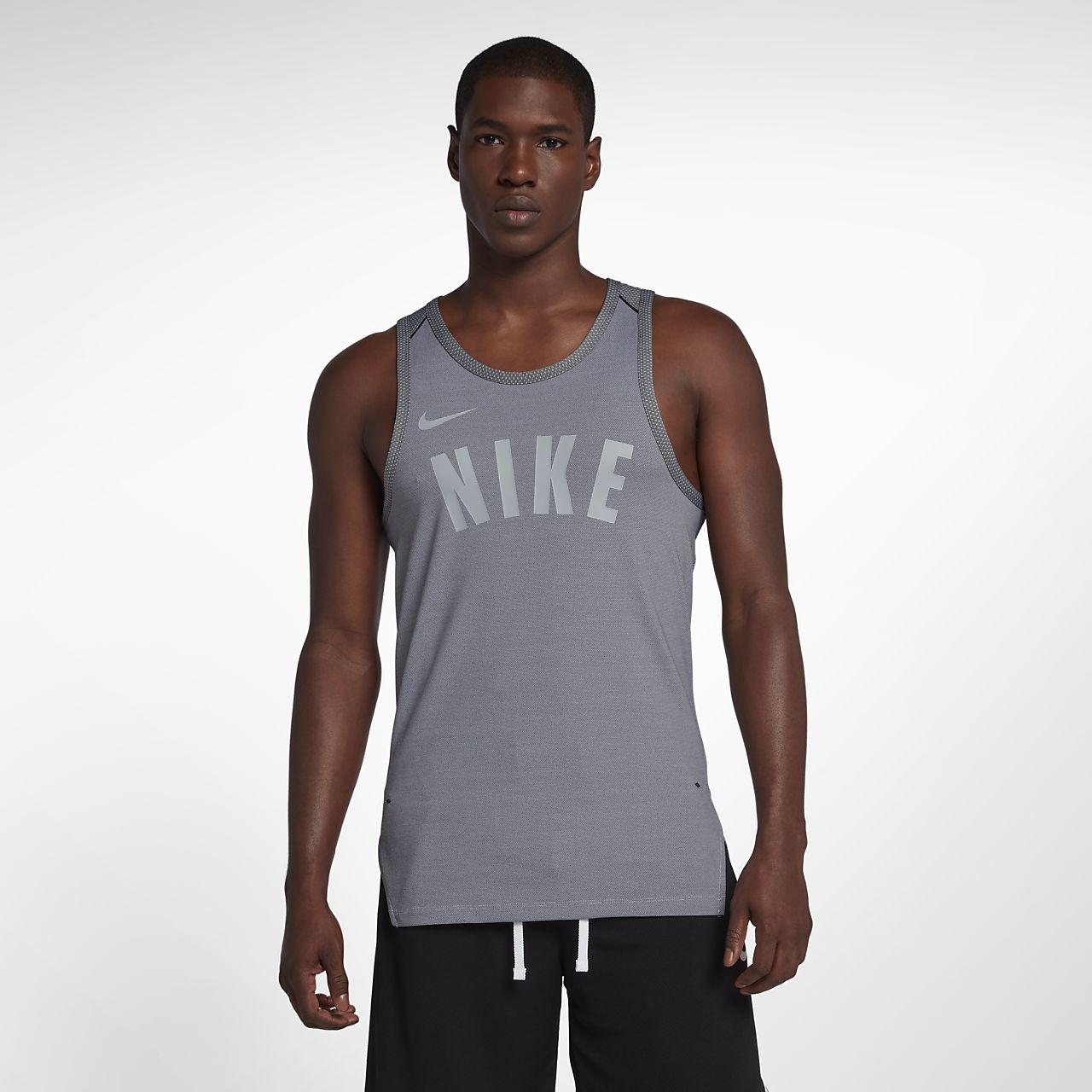 Pánské basketbalové tričko bez rukávů Nike Dri-FIT Hyper. Nike.com CZ f52f82e807