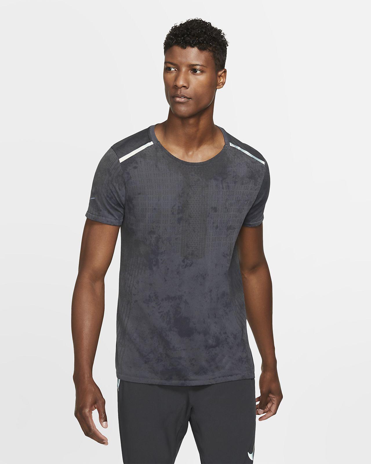 Nike Tech Pack Kurzarm-Laufoberteil für Herren