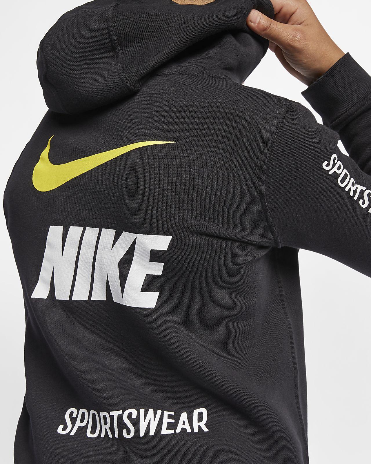 8a498d9d455297 Nike Sportswear Club Fleece Big Kids  (Boys ) Pullover Hoodie. Nike.com