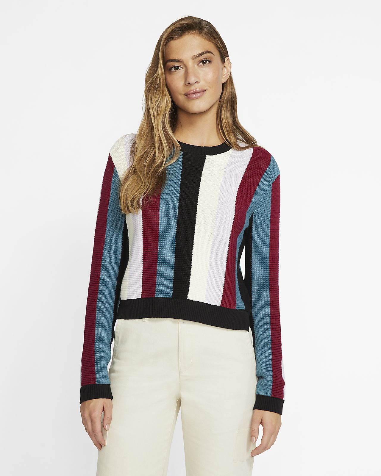 Sweater para mujer Hurley stripe