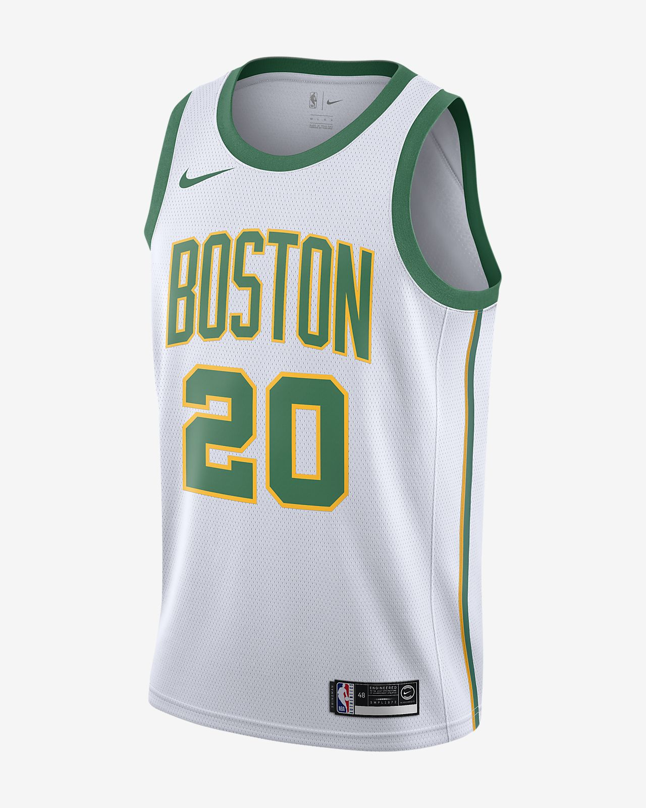 Camisola com ligação à NBA da Nike Gordon Hayward City Edition Swingman (Boston Celtics) para homem