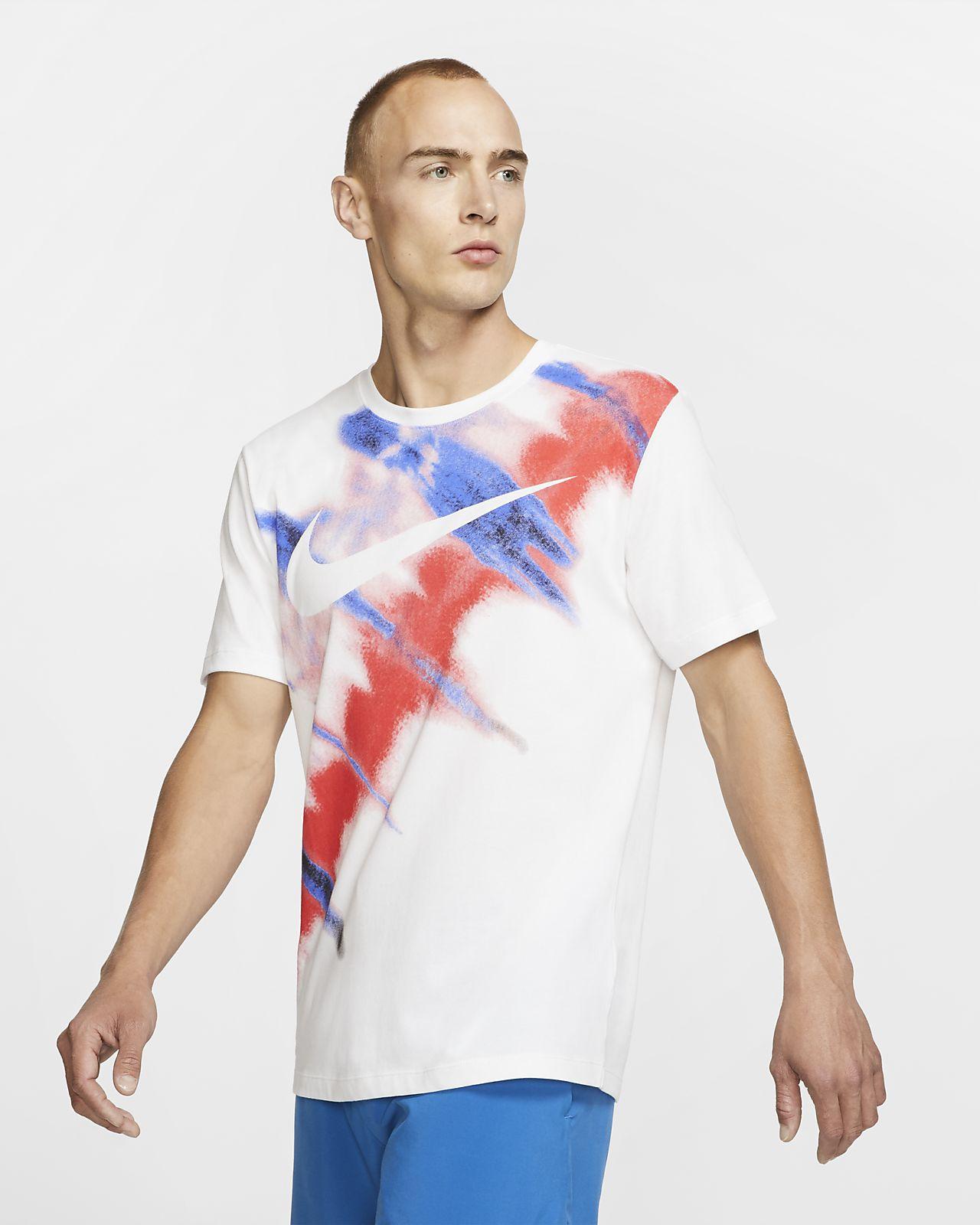 Kortærmet Nike Dri-FIT-trænings-T-shirt til mænd