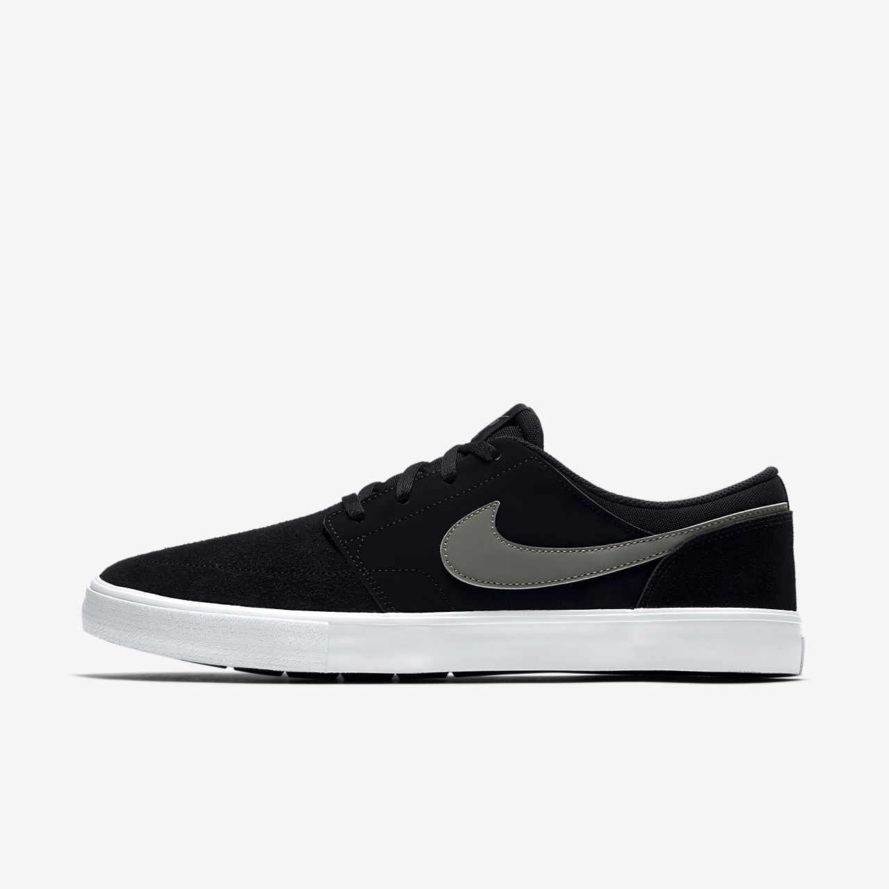 Nike SB Zoom Stefan Janoski Canvas Men's Skateboarding Shoes Black/Brown vE1674E