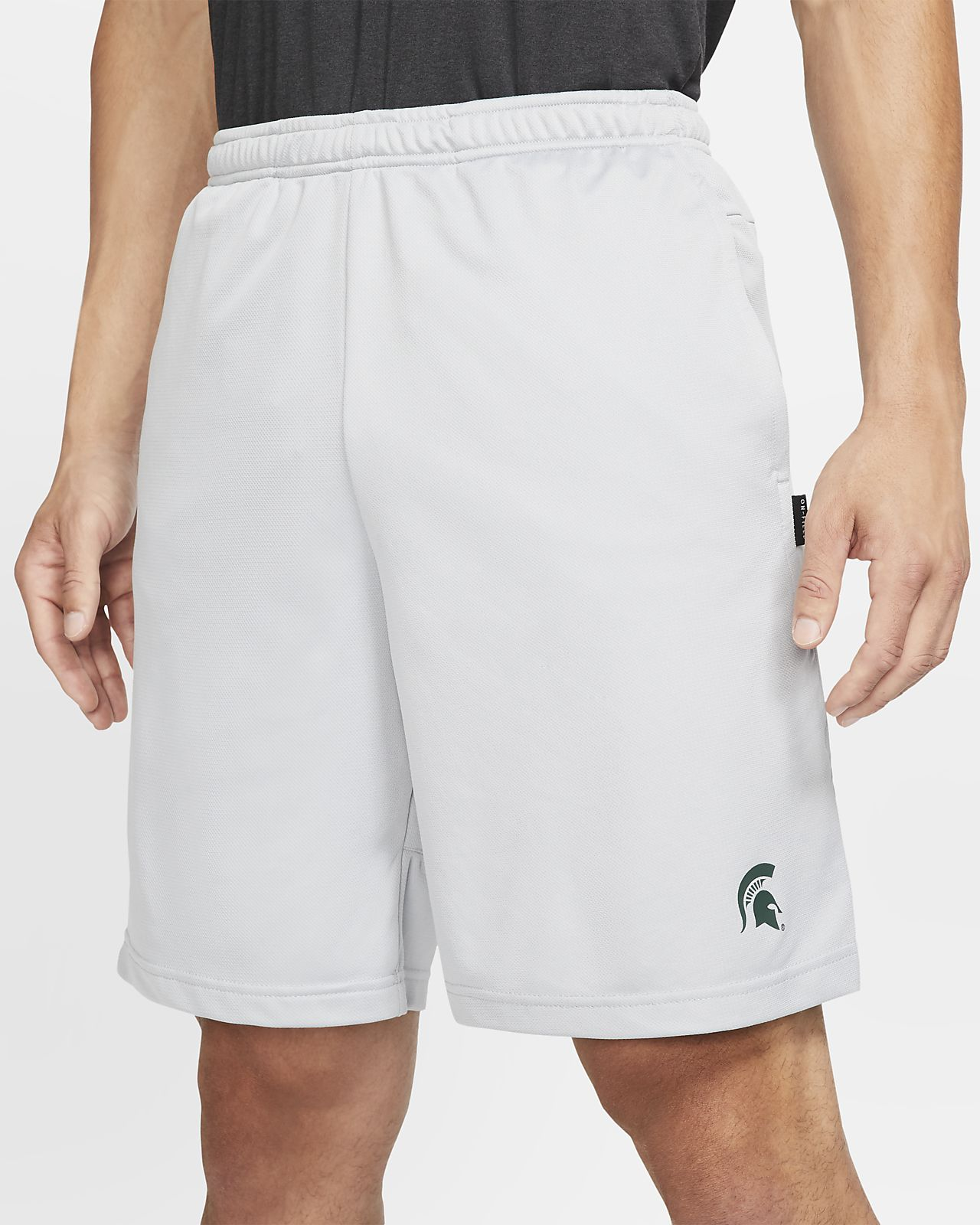 Nike College Dri-FIT Coach (Michigan State) Men's Shorts