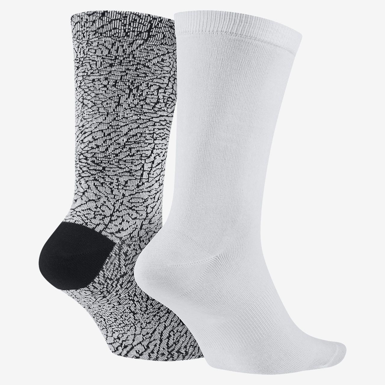 bon marché jeu eastbay Nike Mens Chaussettes De L'équipage Coussin Dri-fit - 3-pack Éléphant jeu images footlocker gros pas cher bNQX4P
