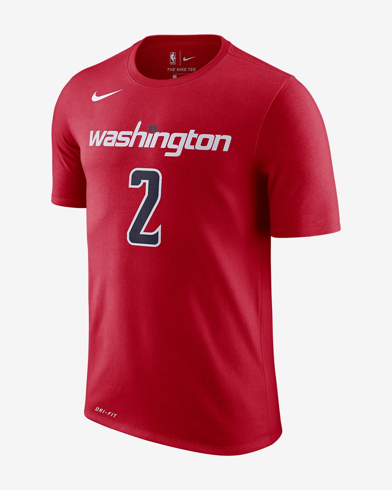 new style 4eb09 ae7f0 John Wall Washington Wizards Nike Dri-FIT Men's NBA T-Shirt