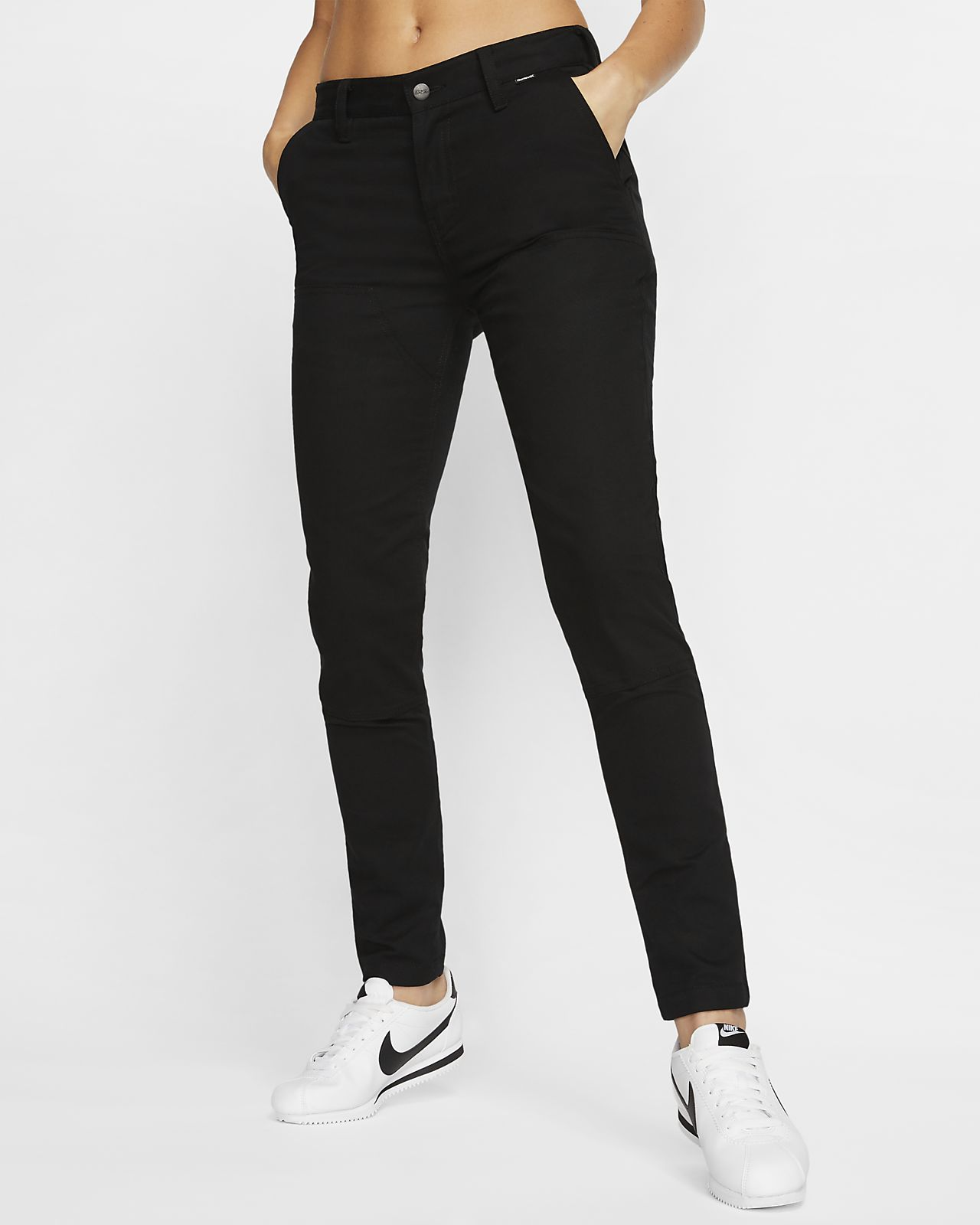 Pantalon Hurley x Carhartt Skinny Double Front pour Femme