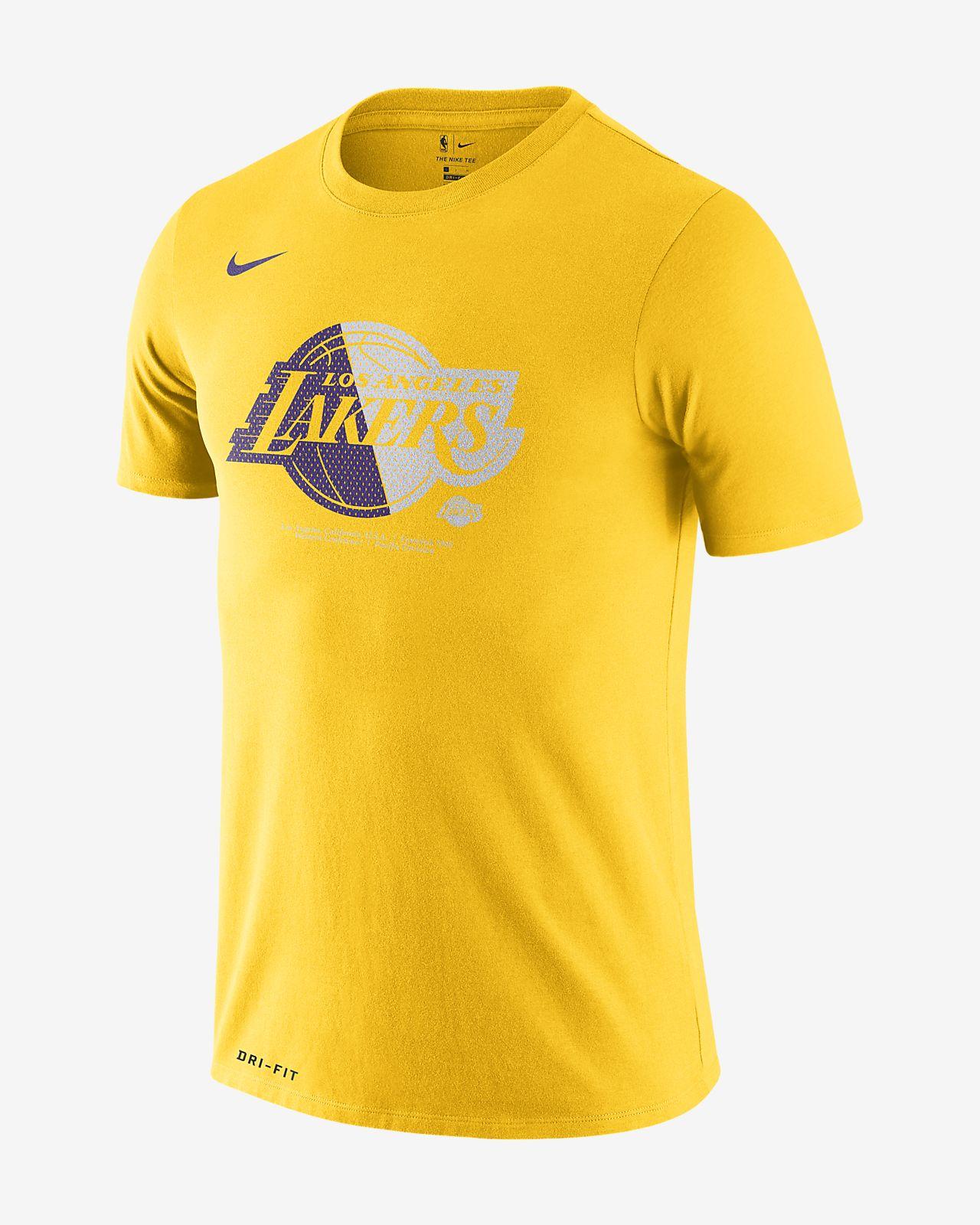 Pánské tričko NBA Los Angeles Lakers Nike Dri-FIT