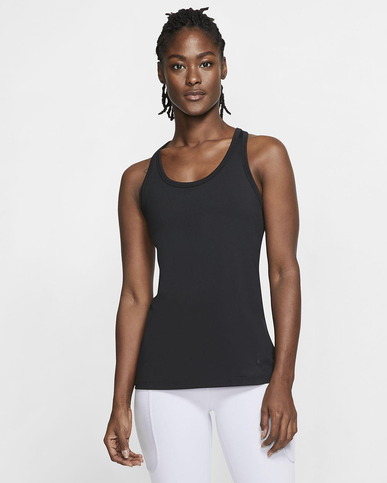 Canotta da yoga Nike Get Fit - Donna
