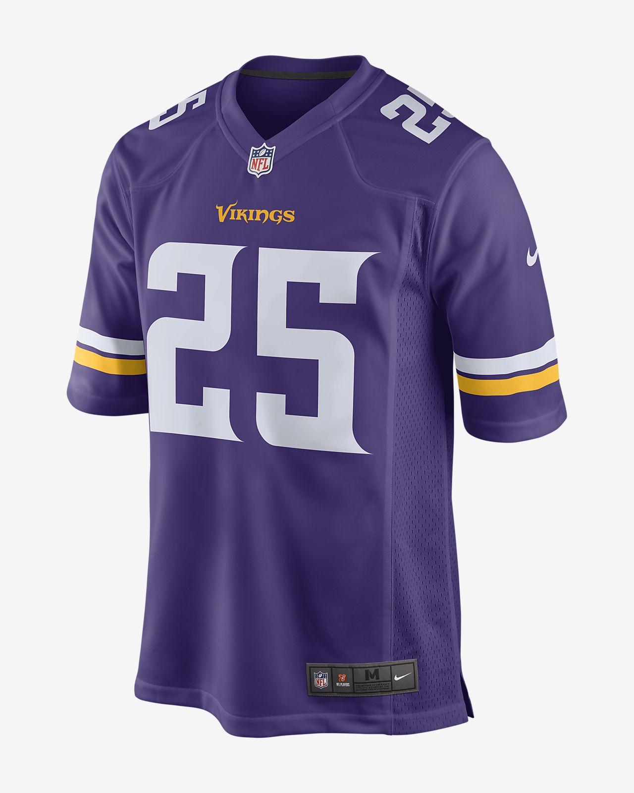Мужское джерси для американского футбола для игры на своем поле NFL Minnesota Vikings (Latavius Murray)