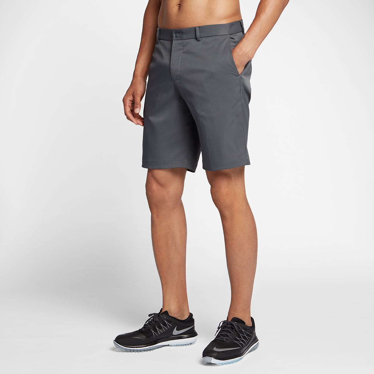 """Nike Flat Front 10,5"""" golfshorts for herre"""