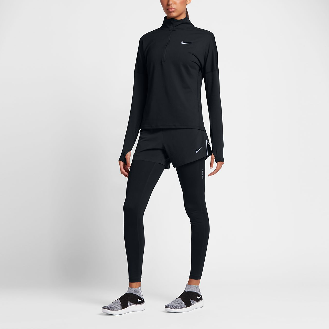 db75b39fa874 Nike Dri-FIT Women s Long-Sleeve Running Half-Zip Top. Nike.com GB