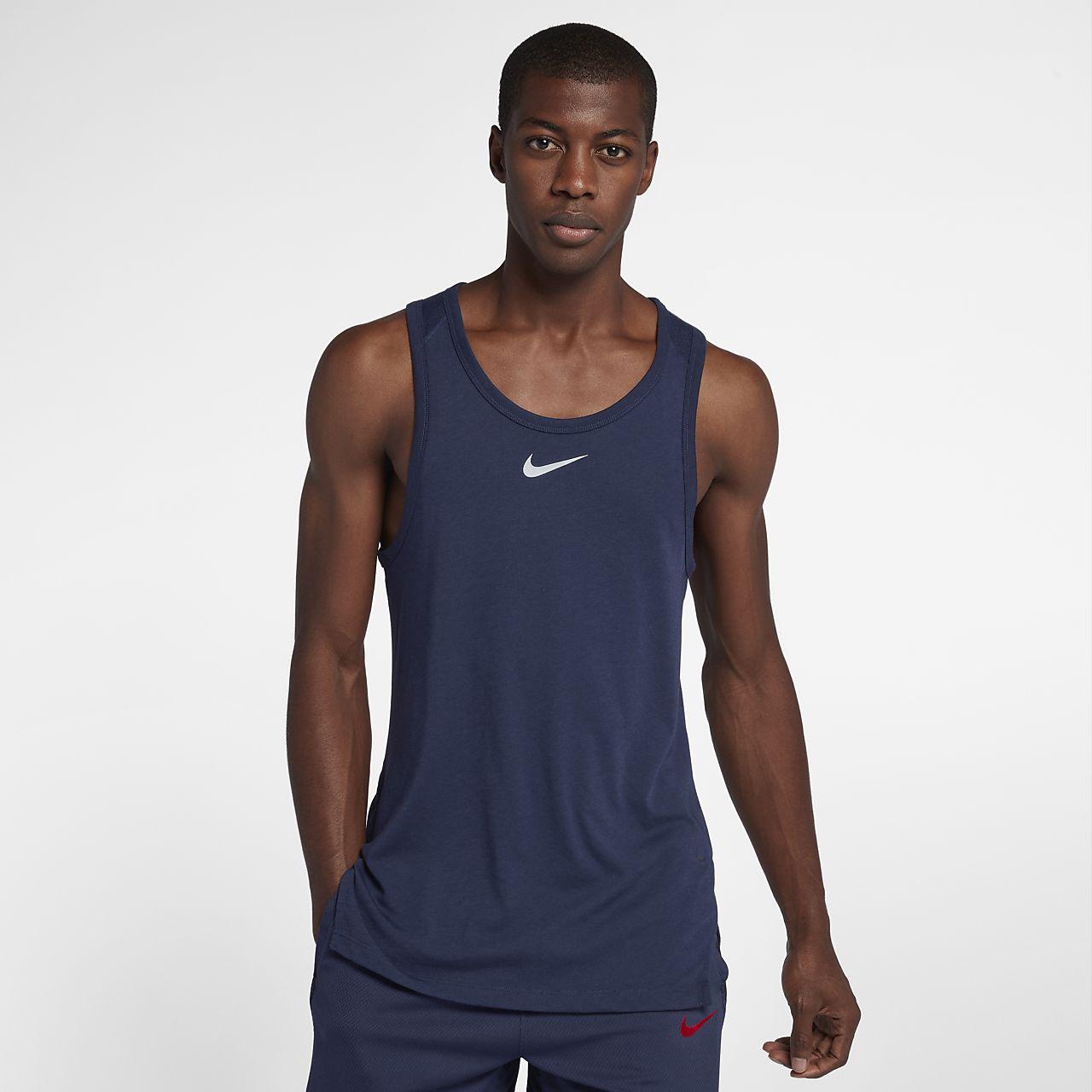 Nike Breathe Elite Men's Sleeveless Basketball Top