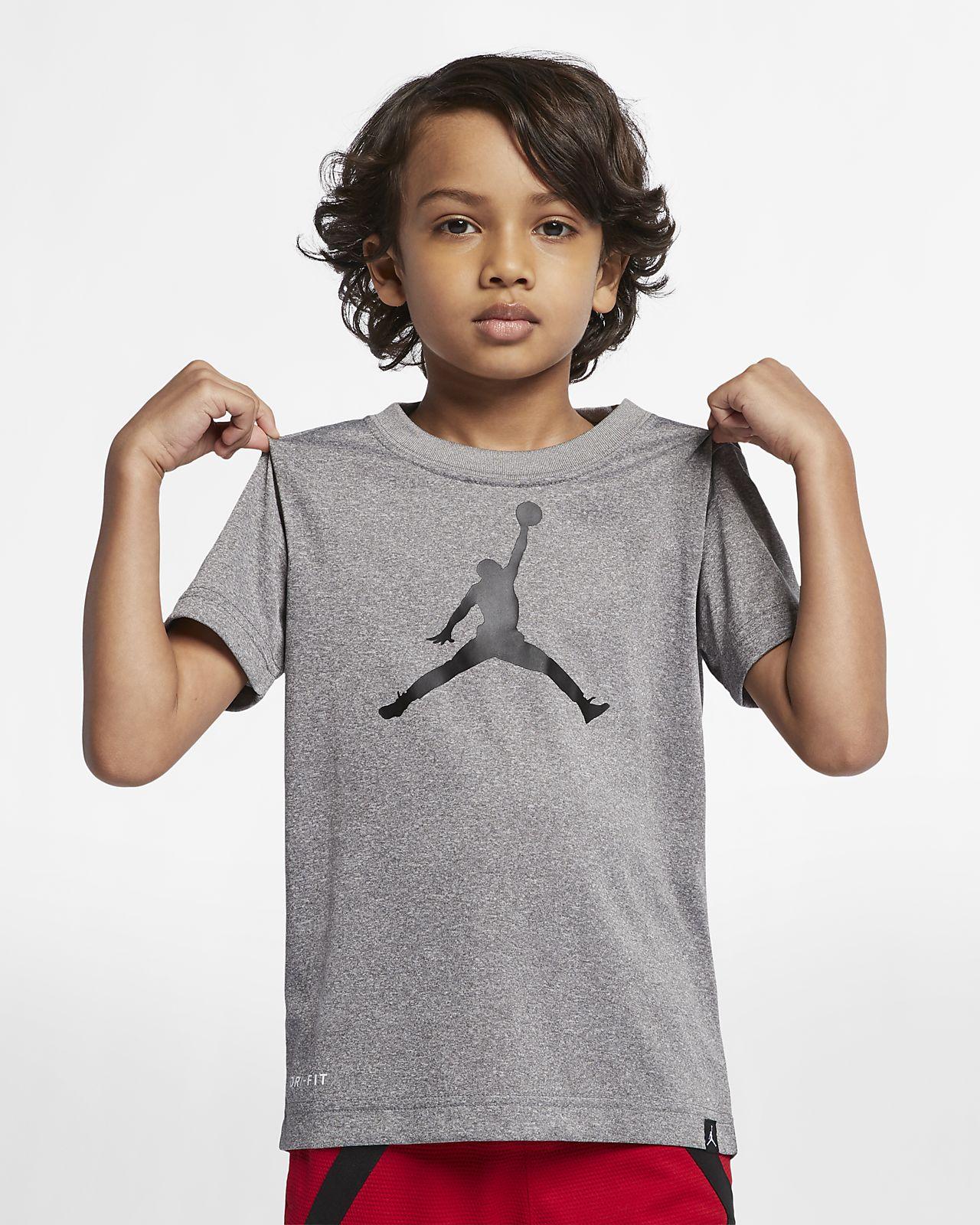 6b377c2bb5a933 Jordan Dri-FIT Little Kids  T-Shirt. Nike.com
