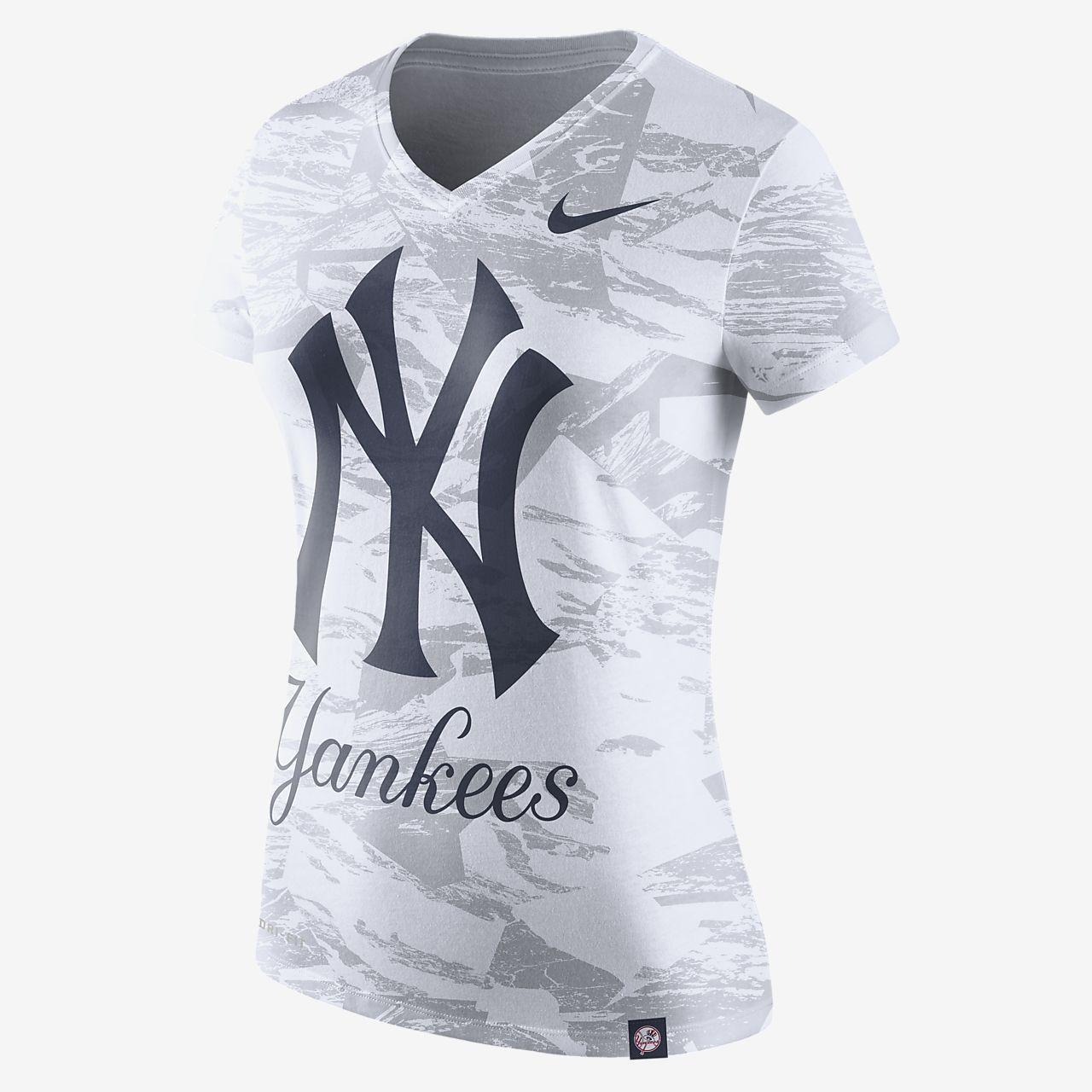 Nike Dri-Blend (MLB Yankees) Women s T-Shirt. Nike.com 05904fa3199