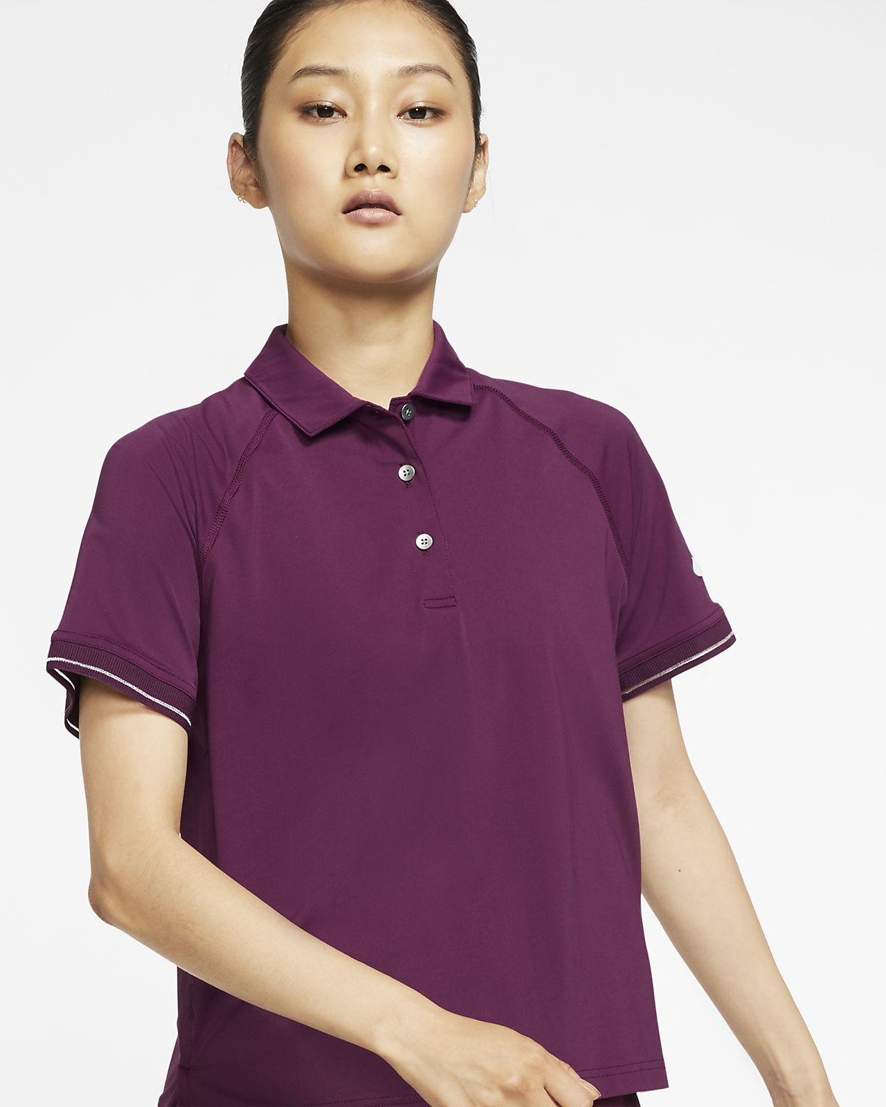 Женская теннисная рубашка-поло NikeCourt
