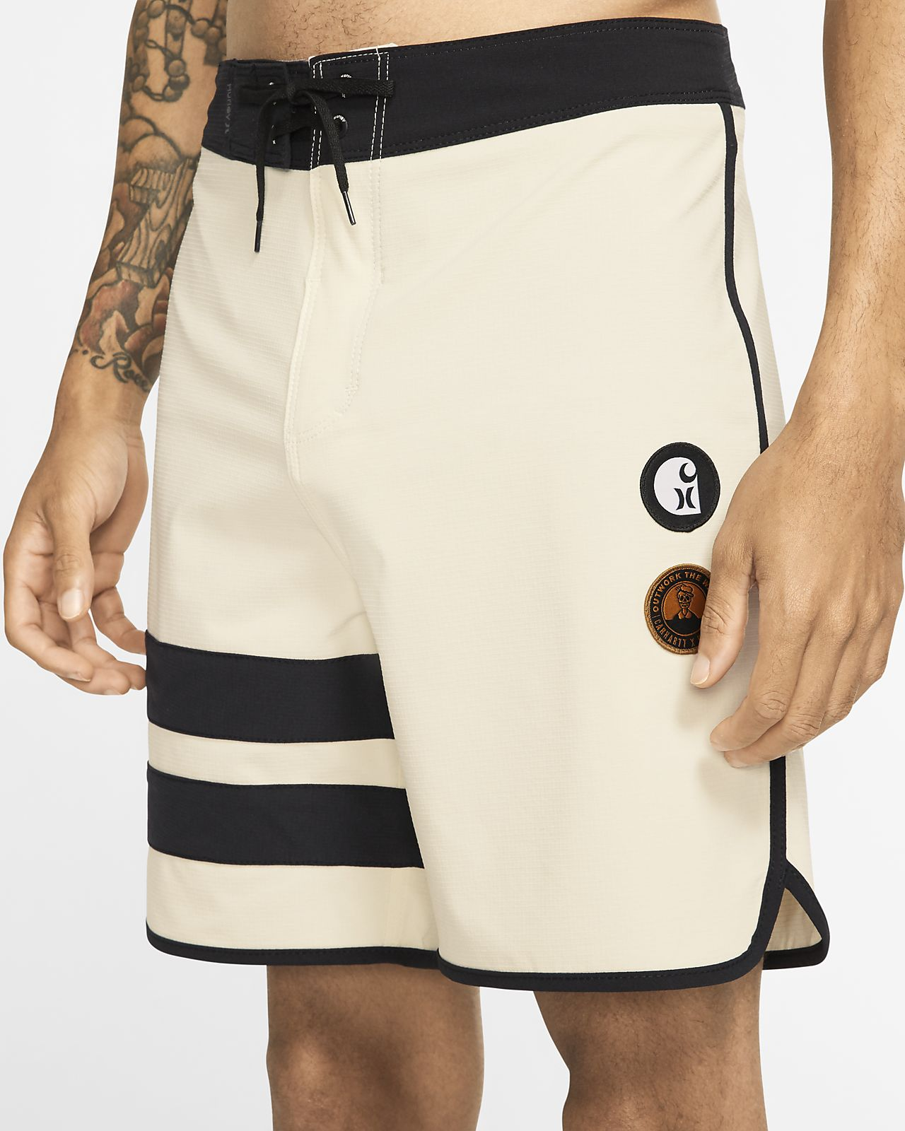 Shorts de playa de 46 cm para hombre Hurley Phantom x Carhartt Built