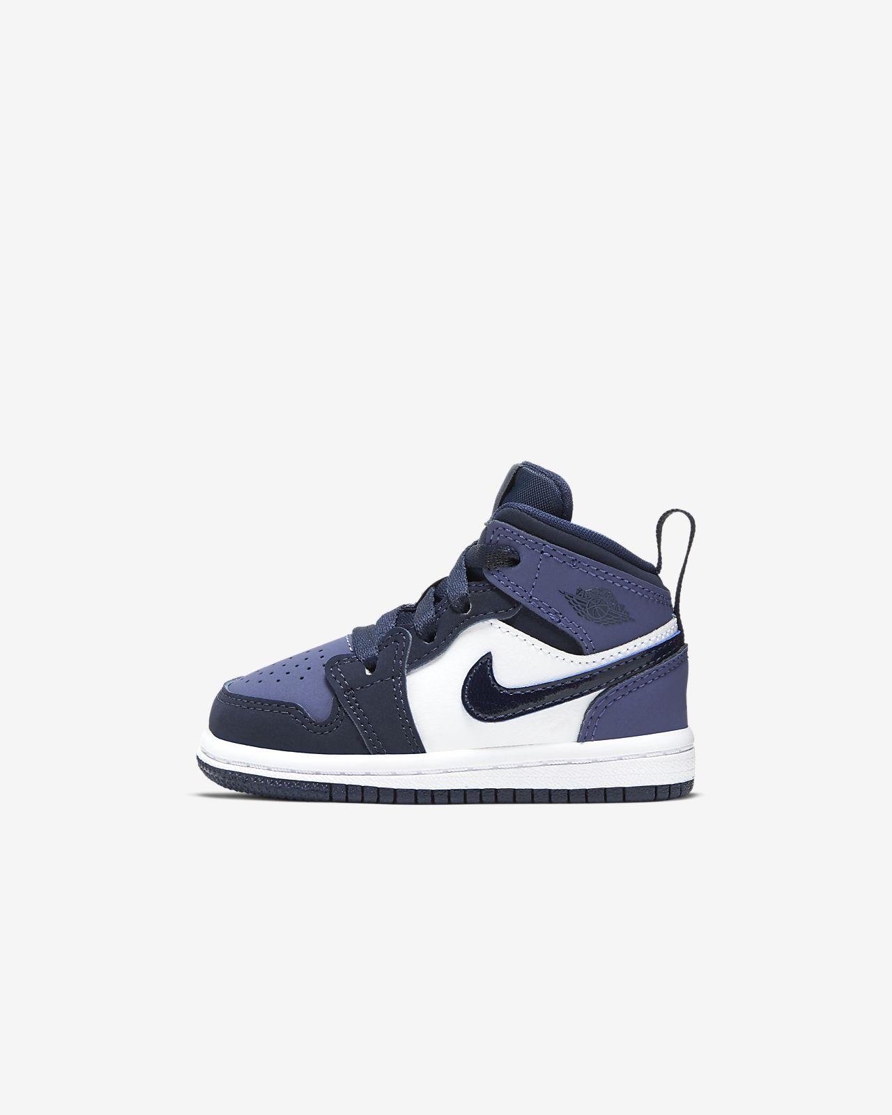 Air Jordan 1 Mid Baby & Toddler Shoe