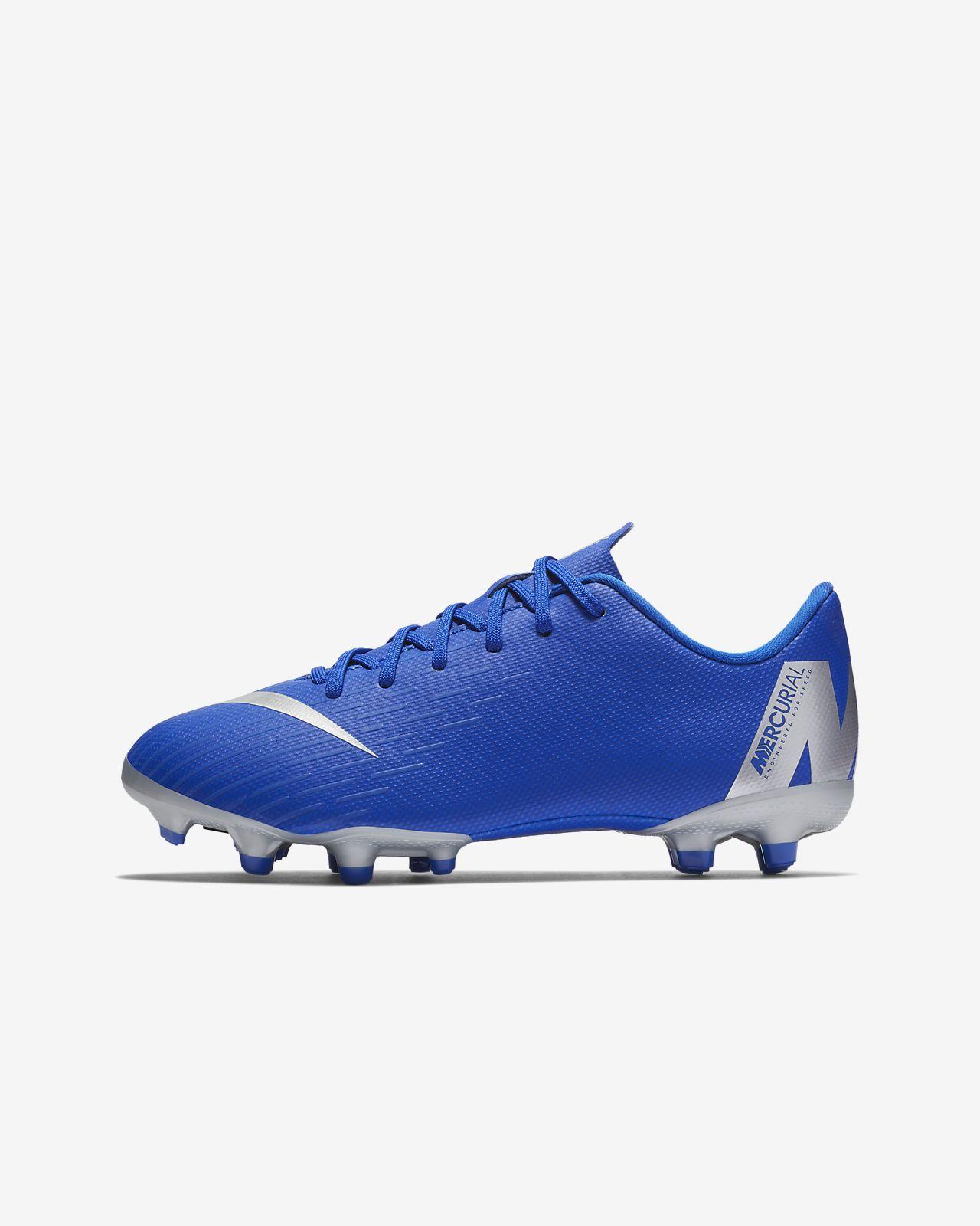 Calzado de fútbol multiterreno para niños talla pequeña/grande Nike Jr. Mercurial Vapor XII Academy