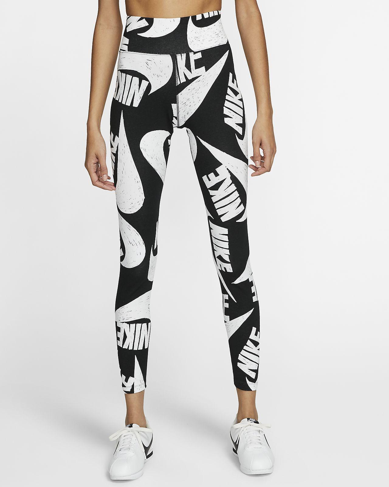 Leggings stampati Nike Sportswear Donna