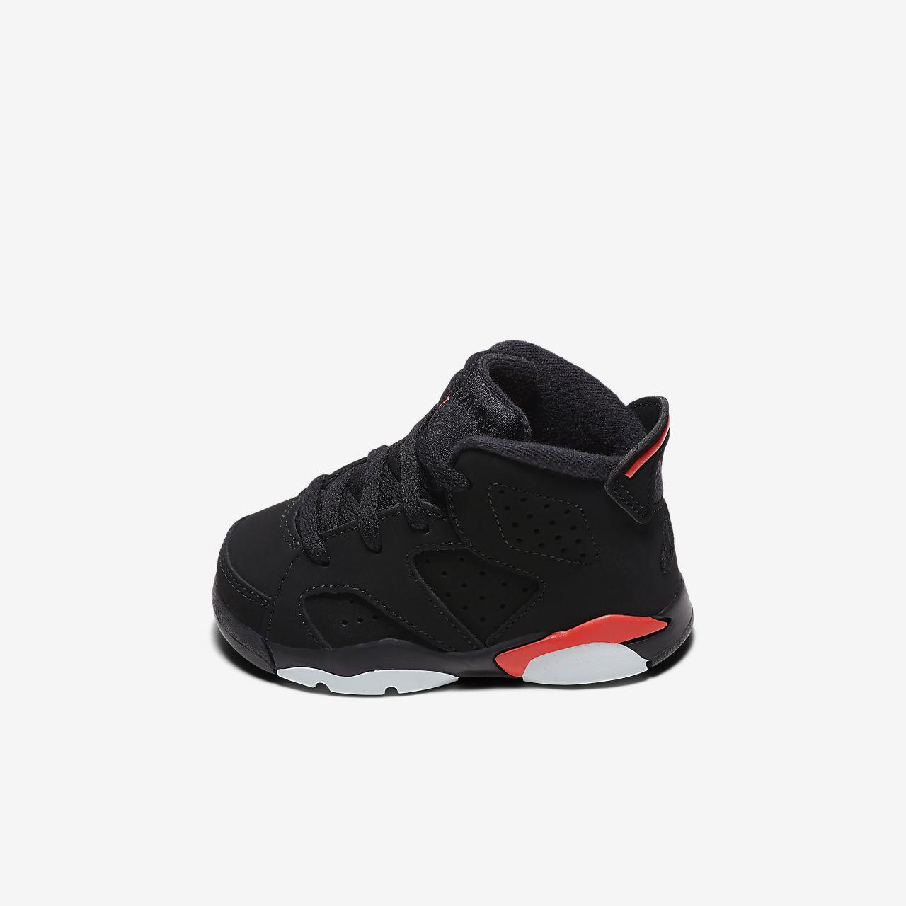 0451689fae77 Air Jordan Retro 6 Baby  amp  Toddler Shoe (1.5–9.5). Nike.com IN