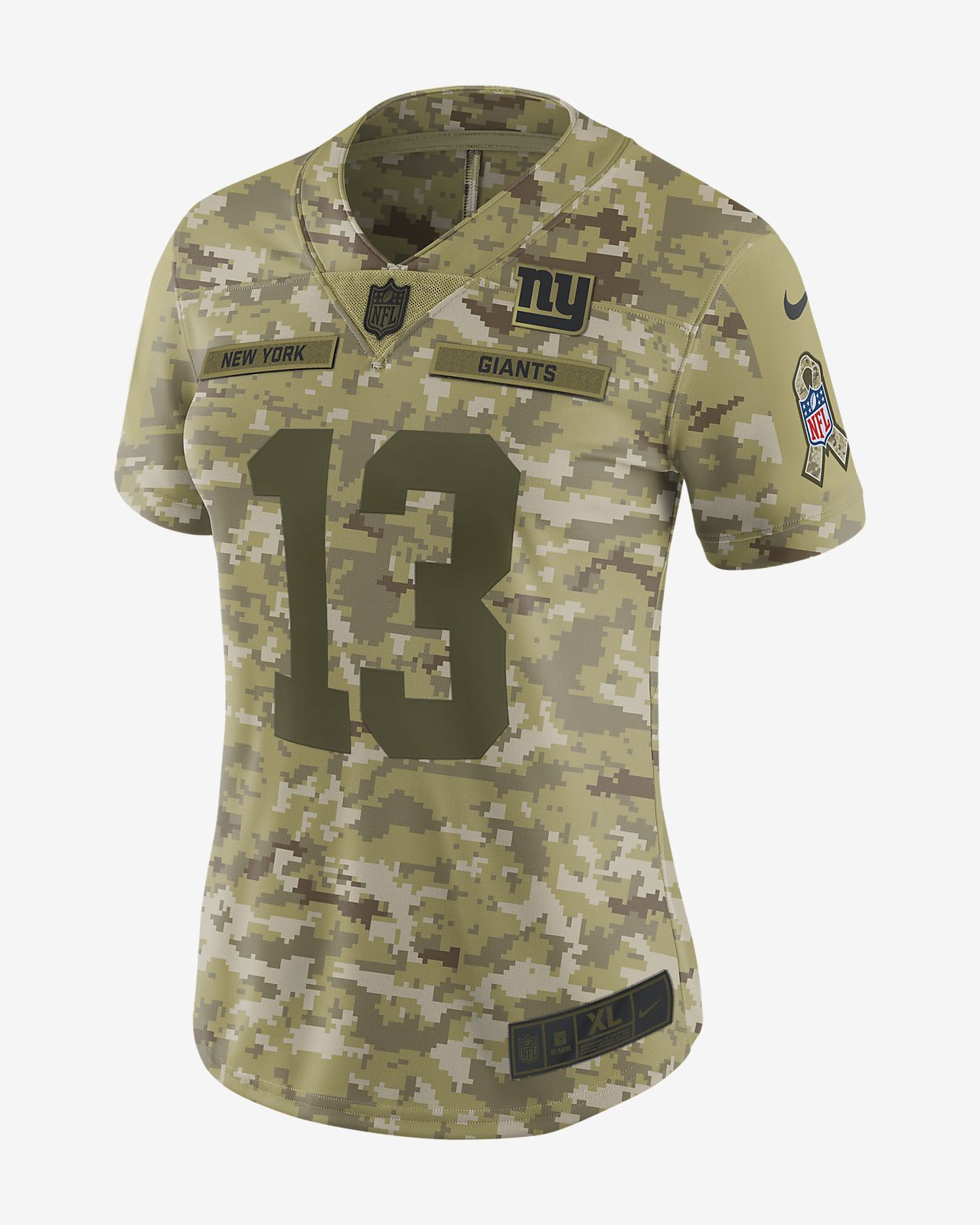 6c15649a0 NFL New York Giants Limited Jersey (Odell Beckham Jr.) Women s ...