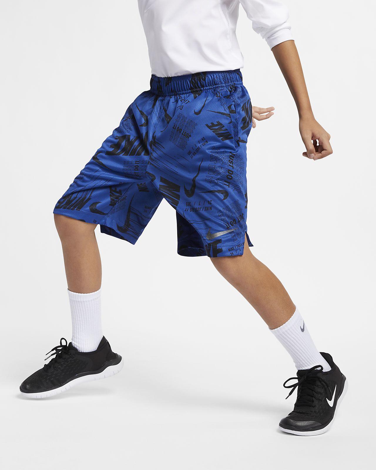 Nike Dri-FIT Big Kids' (Boys') Printed Training Shorts