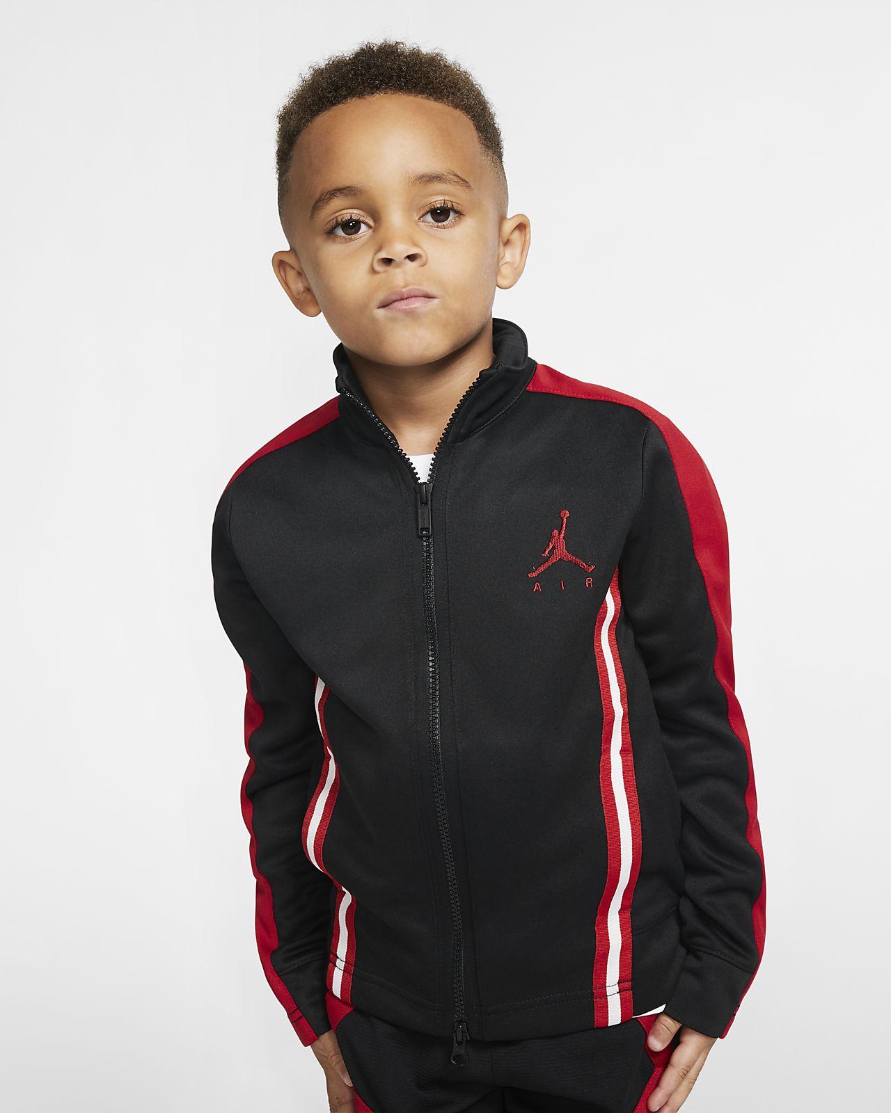 Τζάκετ με φερμουάρ σε όλο το μήκος Air Jordan για μικρά παιδιά