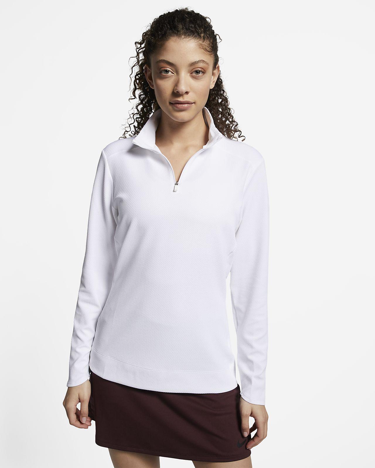 Nike Dri-FIT UV Women's 1/4-Zip Golf Top
