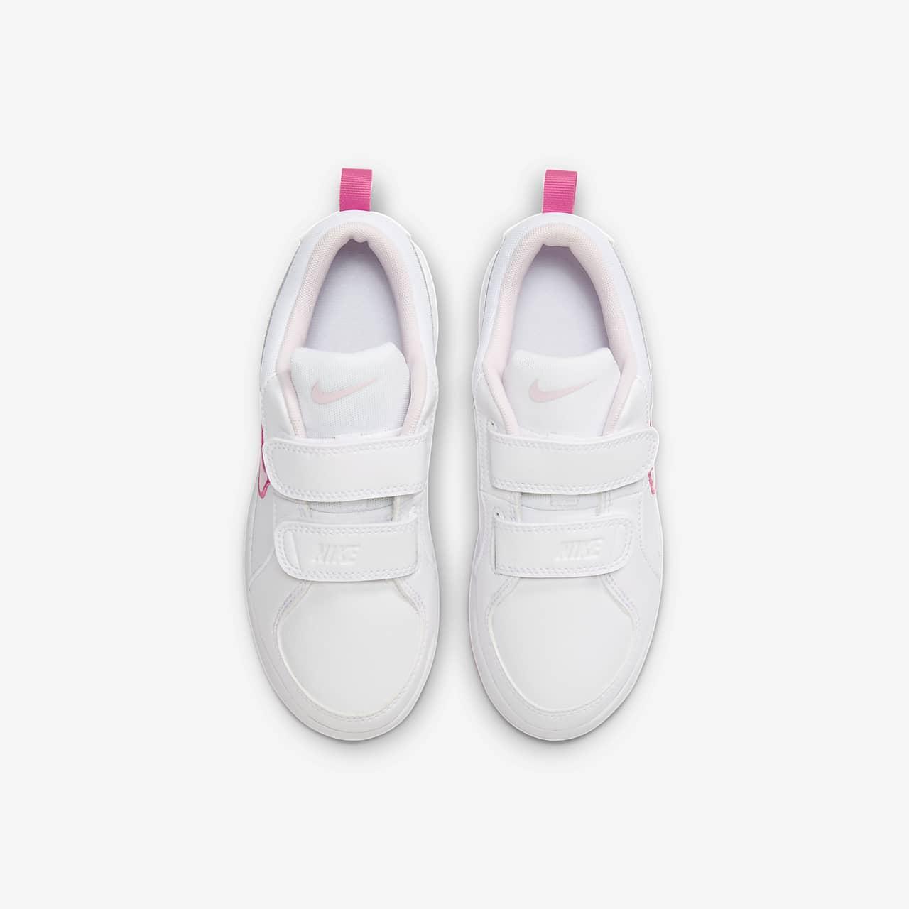 Sko Nike Pico 4 för tjejer (storlek 27,5 35) Vit   Barnskor  