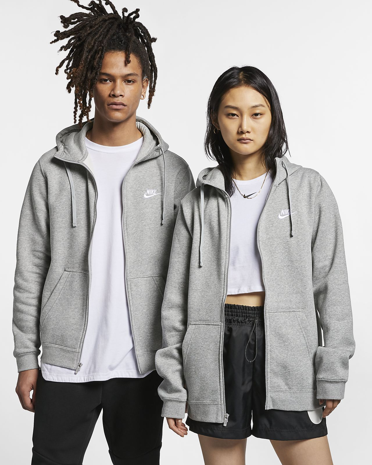 Nike Sportswear Club-fleecehættetrøje