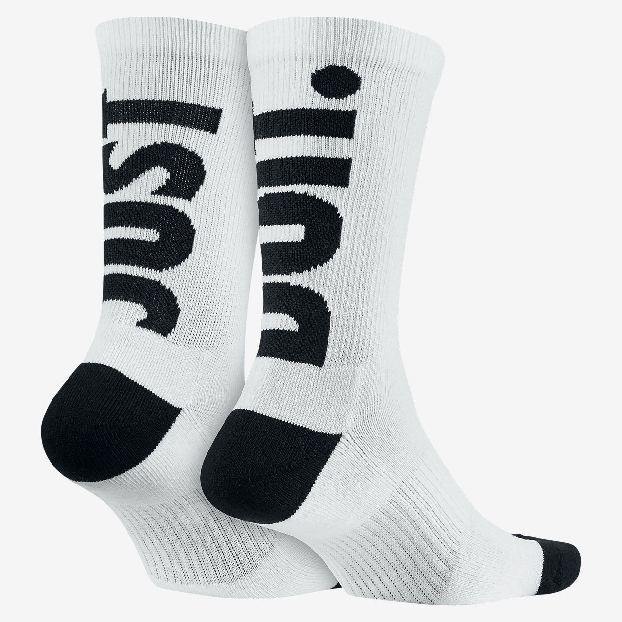 nike just do it crew socks 2 pair nikecom bg